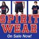 Spirit Wear on sale now